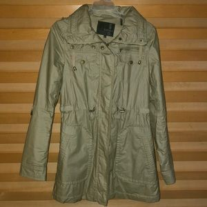 Buffalo Outerwear 5 Tan Rain Coat Sz S